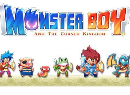 Monster Boy and the Cursed Kingdom, svelato l'ultimo personaggio ricreato per il titolo