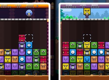 Mutant Mudds Collection: mostrato un video dedicato a Mudd Blocks