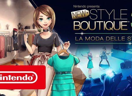 Nintendo Presents: New Style Boutique 3 – Styling Star, pubblicato il trailer di lancio del titolo