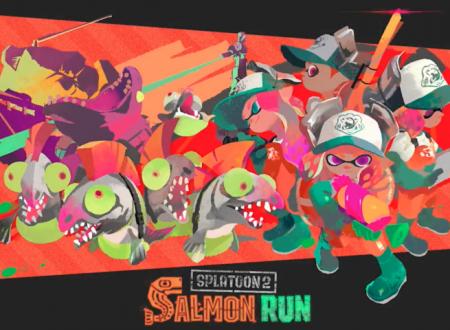 Nintendo Switch Online: l'app aggiornata, mostra ora gli eventi della Salmon Run