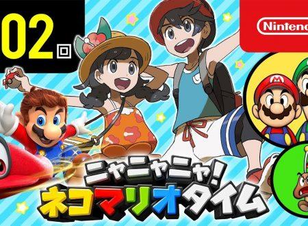 Nyannyan Neko Mario Time: pubblicato l'episodio 102 dello show felino con Mario e Peach