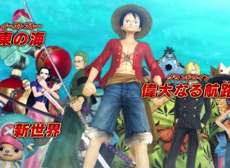 One Piece: Pirate Warriors 3 Deluxe Edition, pubblicato un nuovo trailer giapponese della versione Nintendo Switch