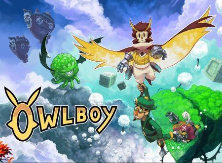 Owlboy: il titolo annunciato per l'arrivo il 13 febbraio su Nintendo Switch