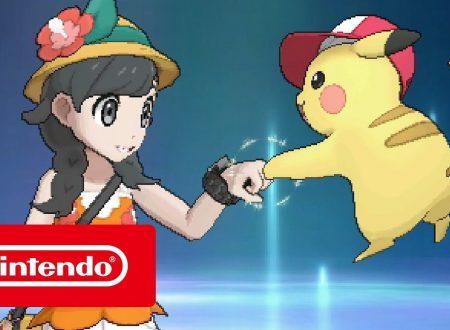 Pokémon Ultrasole e Ultraluna: disponibile il trailer di lancio dei due titoli