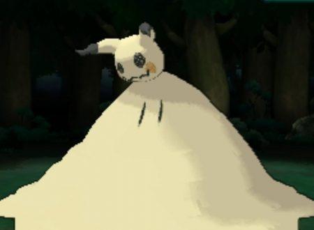 Pokémon Ultrasole e Ultraluna: svelata la Mossa Z esclusiva di Mimikyu nei due titoli