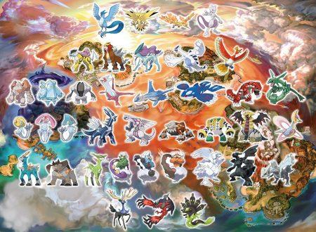 Pokémon Ultrasole e Ultraluna: svelati i Pokémon leggendari esclusivi per le due versioni