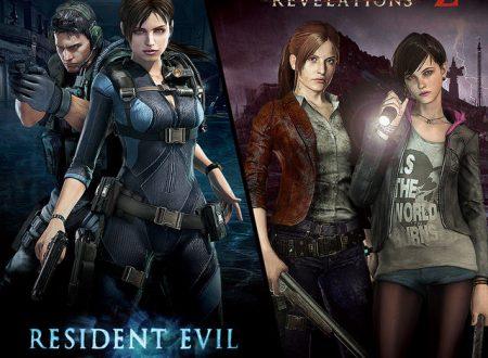 Resident Evil Revelations 1 e 2: nuovi video comparativi con tutte le versioni dei due titoli