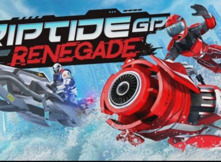 Riptide GP: Renegade, uno sguardo in video gameplay al titolo in arrivo a dicembre sui Nintendo Switch europei