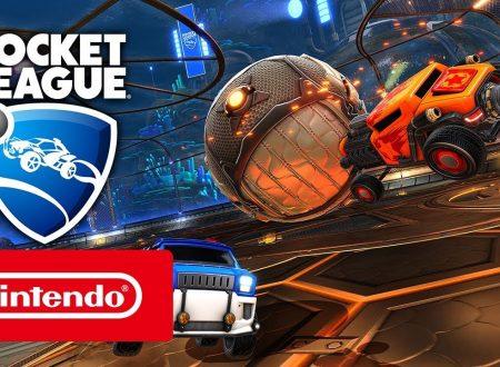 Rocket League: pubblicato il trailer di lancio italiano su Nintendo Switch