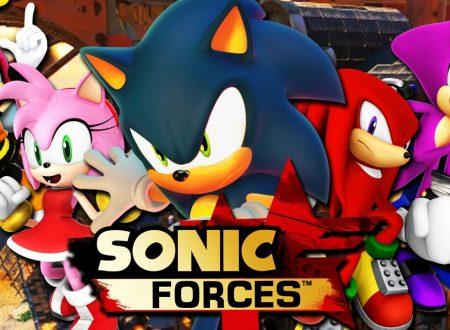 Sonic Forces: svelati i dettagli della patch del Dayone, che porterà il titolo alla versione 1.01