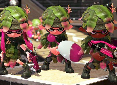 Splatoon 2: gli indumenti vincitori dello Squid Fashion Contest di Famitsu, disponibili nel prossimo update