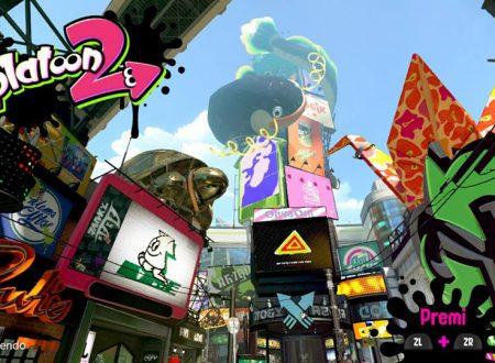 Splatoon 2: il titolo per Nintendo Switch, ora aggiornato alla versione 1.4.2
