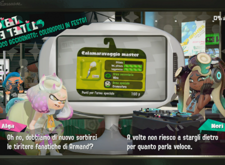 Splatoon 2: sguardo in video al Calamaravaggio master, l'arma ora disponibile