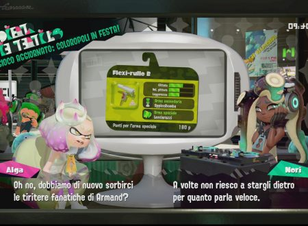 Splatoon 2: sguardo in video gameplay al Flexi-rullo B, l'arma ora disponibile