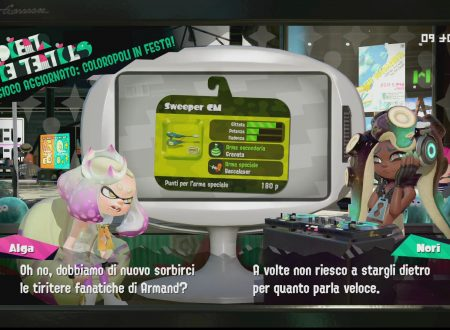 Splatoon 2: uno sguardo in video allo Sweeper CM, la nuova arma ora disponibile