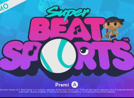 Super Beat Sports: uno sguardo alla demo disponibile sull'eShop di Nintendo Switch
