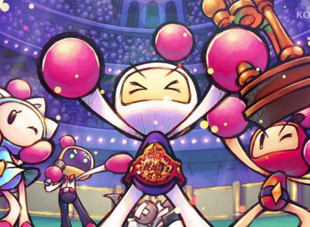 Super Bomberman R: il titolo ora alla versione 2.0, aggiunti nuovi personaggi e la modalità Grand Prix