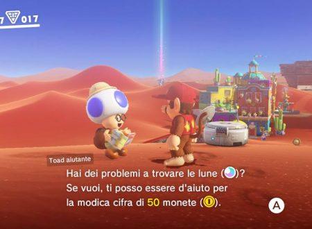 Super Mario Odyssey: scoperto un cameo di Bob-Omb Battlefield nella mappa del Toad Aiutante