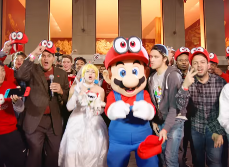 Super Mario Odyssey: mostrato un video dell'evento di lancio del titolo a New York