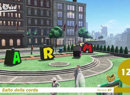 Super Mario Odyssey: scoperto un glitch che permette di ottenere punteggi alti nei minigiochi con un Chiaccherotto