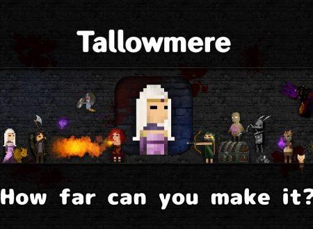 Tallowmere: il titolo in arrivo il 9 novembre sui Nintendo Switch europei