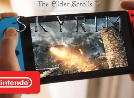 The Elder Scrolls V: Skyrim, pubblicato un video commercial americano, ora in pre-download su Nintendo Switch