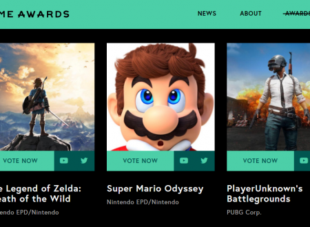 The Game Awards 2017: rivelate le nomine dei titoli Nintendo in lizza per i premi