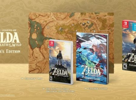 The Legend of Zelda: Breath of the Wild, annunciata la Explorer's Edition per il mercato americano