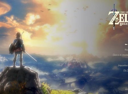 The Legend of Zelda: Breath of the Wild ora alla versione 1.3.4 sui Nintendo Switch europei