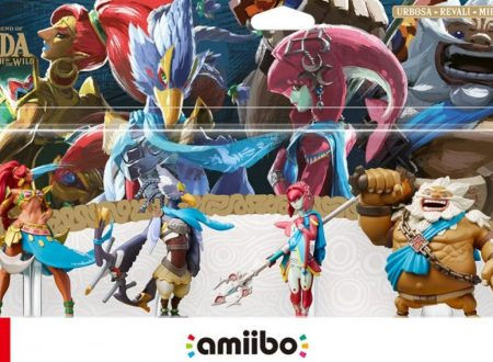 The Legend of Zelda: Breath of the Wild, pubblicato un video unboxing sugli amiibo dei Campioni