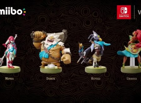 The Legend of Zelda: Breath of the Wild, video gameplay sulle armature sbloccabili dagli amiibo dei Campioni