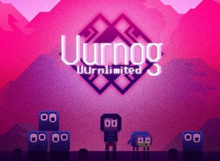 Uurnog Uurnlimited: il titolo in arrivo il 21 novembre su Nintendo Switch