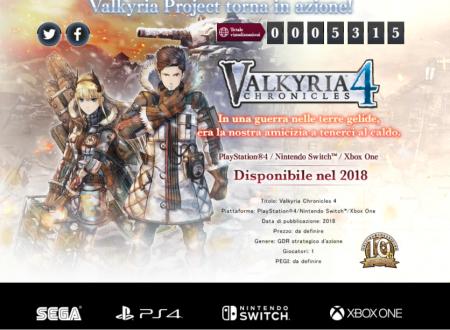 Valkyria Chronicles 4: il titolo annunciato per l'arrivo nel 2018 su Nintendo Switch