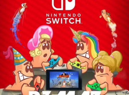 Worms: W.M.D, pubblicata un'ora di gameplay della versione per Nintendo Switch
