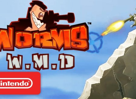Worms: W.M.D, pubblicato il trailer di lancio del titolo su Nintendo Switch