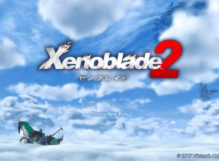 Xenoblade Chronicles 2: mostrata l'immagine del title screen del titolo per Nintendo Switch