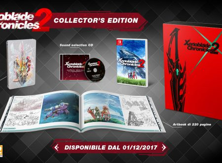 Xenoblade Chronicles 2: video unboxing della Collector's Edition e del Nintendo Switch Pro Controller