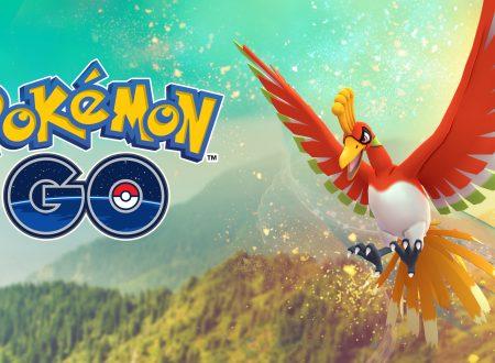 Pokémon GO: Ho-Oh è da ora disponibile nelle battaglie Raid in tutto il mondo