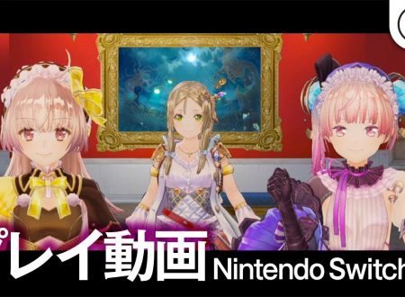 Atelier Lydie & Suelle: Alchemists of the Mysterious Painting, mostrato il primo gameplay su Nintendo Switch