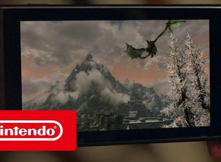 The Elder Scrolls V: Skyrim, pubblicato il trailer di lancio del titolo, ora disponibile sui Nintendo Switch europei