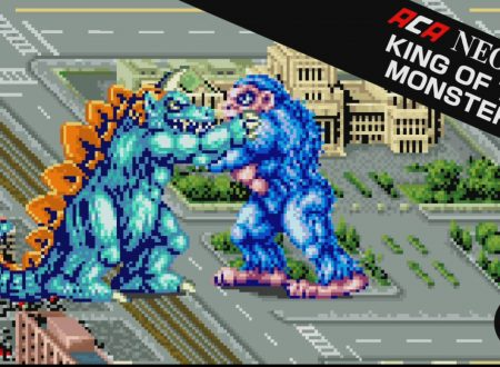 ACA NEOGEO King of the Monsters, il titolo in arrivo il 4 gennaio sull'eShop europeo di Nintendo Switch