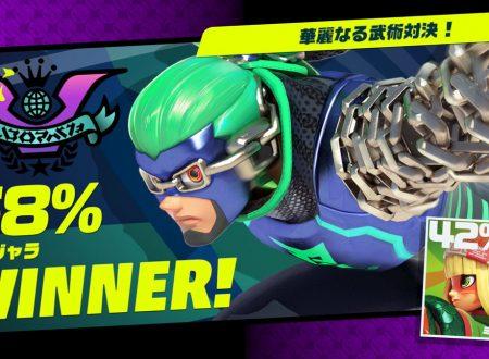 ARMS: Ninjara è il vincitore del secondo Party Crash, Disfida di arti marziali