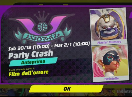 ARMS: uno sguardo in video al terzo Party Crash, Film dell'orrore tra Master Mummy e Twintelle