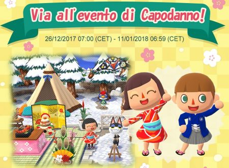 Animal Crossing: Pocket Camp, l'evento di Capodanno è ora disponibile nel titolo