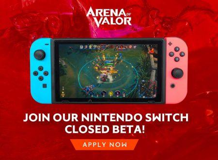 Arena of Valor: aperto un sondaggio per partecipare alla beta sui Nintendo Switch europei