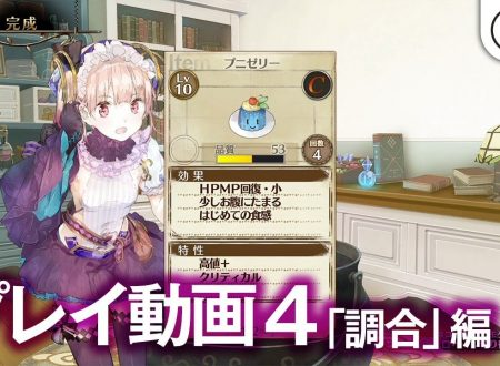 Atelier Lydie & Suelle: Alchemists of the Mysterious Painting, il Synthesis system mostrato in video