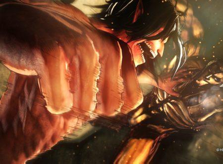 Attack on Titan 2: Future Coordinates, pubblicato il trailer della Storia, svelata l'uscita europea