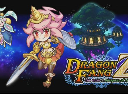 Dragon Fang Z – The Rose & Dungeon of Time: uno sguardo in video gameplay al titolo dai Nintendo Switch europei