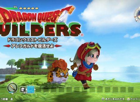 Dragon Quest Builders: il titolo in arrivo il 1 marzo sui Nintendo Switch giapponesi, demo in arrivo a febbraio