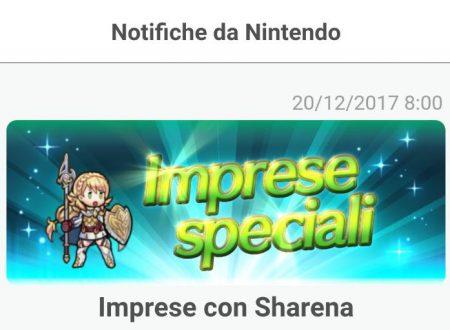 Fire Emblem Heroes: le imprese con Sharena, sono ora disponibili nel titolo mobile
